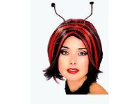 LADY BIRD FANCY DRESS WIG PARTY OR HEN DO HAVE OUTFIT FOR SALE