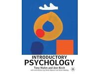 Introductory Psychology Tony Malim and Ann Birch