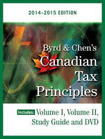 Canadian Tax Principles 2014-2015 -Byrd and Chen