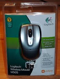logitech wireless mouse M505 BRAND NEW IN PACKET