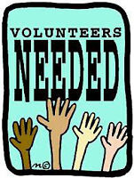 VOLUNTEERS FOR UPCOMING CHARITY CRAFT SHOWS