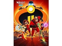Family ticket to see incredibles 2