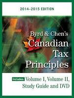 Canadian Tax Principles Byrd and Chen 2014-2015