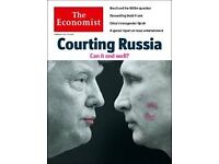 Economist magazines - are you throwing out recent back copies? I love this newspaper but EXPENSIVE!