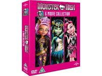 Monster High - 6 Movie Collection [DVD] [2014] andBrand new Breaking bad complete season 1-4
