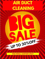 Big Sale For Air Duct cleaning Just $99