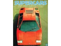 Supercars of the Sevnties book.