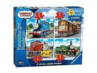 Thomas the tank engine set of puzzles