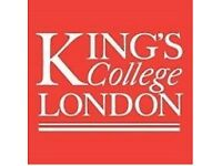 PAID Research Volunteers Needed - King's College London (Camberwell)