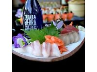 Sushi chef required