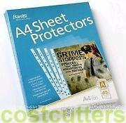 A4 Sheet Protectors