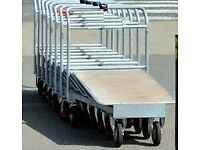 FLATBED TROLLEY, IDEAL FOR WAREHOUSE, BUILDER ETC