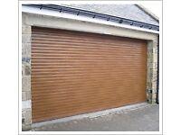 Electric roller garage doors