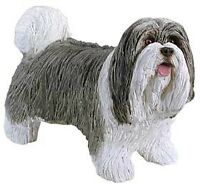 Bearded Collie Sandicast Sculpture, Sandi-Cast, SM486 Beardie