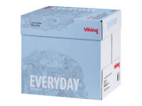 Boxes of Clear Bright White A4 Paper - 80 GSM - Viking brand / (5 Reams / 2,500 Sheets)