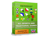 GESTICS ALL SPORTS AND TRADITIONAL GAMES - Make graphics sport exercises