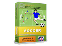 GESTICS SOCCER -Easy software to make graphics sports exercises, drills,trainings, tactics in soccer