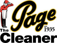 Tailor & Customer Service – Page the Cleaner