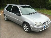 2002 Citroen Saxo 1.1 petrol Ideal First Car 77k with History