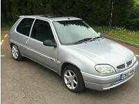 2002 Citroen Saxo, 1.1 petrol, Lovely Small Engine First Car, Only 77k miles