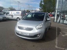 SERVICE HISTORY! 2010 60 KIA VENGA 1.4 3 5D 89 BHP **** GUARANTEED FINANCE **** PART EX WELCOME ****