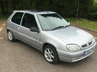 2002 Citroen Saxo 1.1 petrol Ideal First Car Only 77k miles with History Good Condition