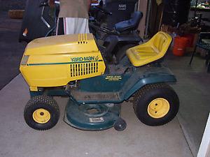 tracteur gazon yard man 20hp kohler 46