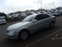 2007 57 MERCEDES-BENZ E CLASS 1.8 E200 KOMPRESSOR ELEGANCE 4D AUTO 181 BHP ** GUARANTEED FINANCE **