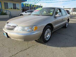 2000 Lincoln Continental ecsecutor Sedan