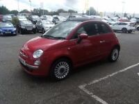 RAGTOP!! 2010 10 FIAT 500 1.2 C LOUNGE 3D 69 BHP **** GUARANTEED FINANCE **** PART EX WELCOME ****