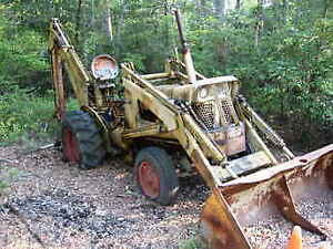 Looking for an old Backhoe