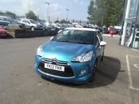 2013 13 CITROEN DS3 1.6 E-HDI DSTYLE PLUS 3D 90 BHP **** GUARANTEED FINANCE ****