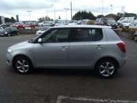 2010 10 SKODA FABIA 1.6 SE TDI CR 5D 103 BHP***GUARANTEED FINANCE**8PART EX WELCOME***