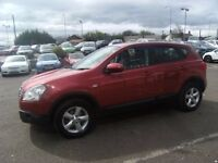 2007 07 NISSAN QASHQAI 1.6 ACENTA 5D 113 BHP **** GUARANTEED FINANCE **** PART EX WELCOME ****