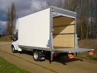 2 man and large van with lift removal uplift clearance home office drop off RUBBISH UPLIFTS