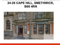 Shop to let *smethwick* Great Business Opportunity* Takeaway Fastfood* A5* over 1000sqft