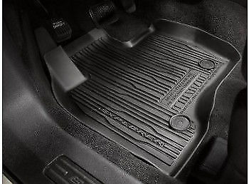 Ford Explorer 4 Piece (Ford 2017-2018 Explorer Floor Mats Liner Tray Style 4 Piece HB5Z-7813300-BA )
