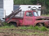 1950's ford f100 short box step side