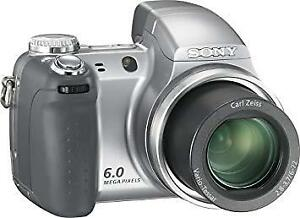Sony® Cyber-shot® DSC-H2 6.0-Megapixel Digital Camera
