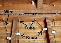 Knob and tube removal