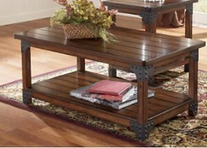 Rustic Look Coffee table in excellent condition