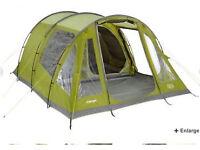 Vango Icarus 500 family tent + footprint + carpet used 3 times