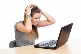 Are you having Computer problems? Call now..£10 per hour (computer repair)