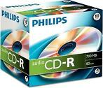 Philips Audio CD-R 80 minuten 10 stuks