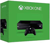 Xbox One With 4 Games