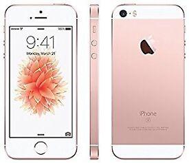 iPhone se rose gold 16gb bt/ee
