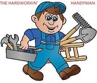 HARDWORKN HANDYMAN - PERFORMANCE BASED WAGE