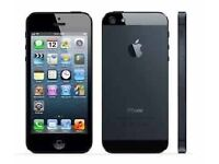 iPhone 5 - 64 GB used but in White and black Colour