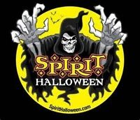 Spirit Halloween now Hiring