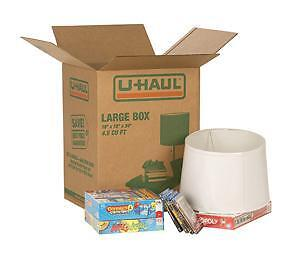 U-haul Moving Boxes - Great Selection